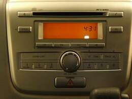 CD・AM/FMラジオ付
