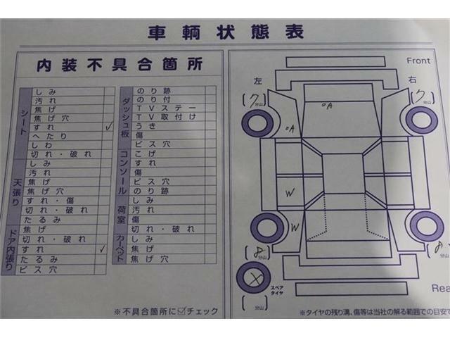全車メーカー整備手帳・車両チェックシート付き!