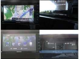 ナビ画面にもマルチアラウンドモニターの画像が映し出されます。