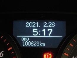 走行距離はおよそ101,000kmです。