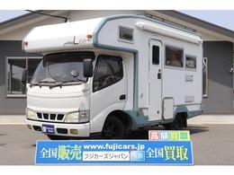 トヨタ カムロード キャンピングカー バンテック レオ 9名 4WD FFヒーター サイドオーニング