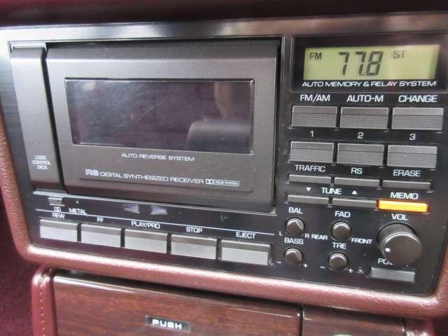 ■懐かしのカセットテープのオーディオです。しっかり再生出来ますので当時のテープを聞きながらドライブをお楽しみください!