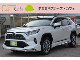 トヨタ RAV4 2.0 G Zパッケージ 4WD MODELLISTAエアロ9型ナビバックカメラETC付