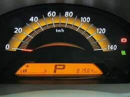 走行距離はおよそ82,000kmです。