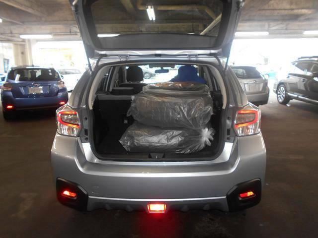 荷室も広くたくさん荷物を積み込んでも余裕があります。