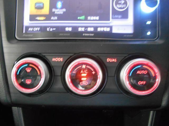 愉しく快適なドライブには、快適な空間室温が必要!オートエアコンでしたら細かい調整はおくるま任せ! しかも左右独立に温度設定が出来ますので、各々好きな室温に設定でき、仲良くドライブできます!