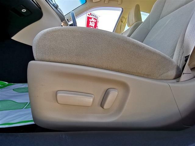 パワーシート装備!シートポジションの微妙な調整もラクラク♪ドライバーの最適なシートポジションを実現します!