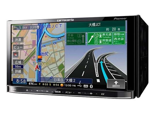 Aプラン画像:Bluetooth付きメモリーナビが装備されます。(画像と取付品番が異なる場合がございます)