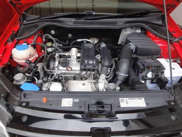 1200CC、ターボ搭載エンジン