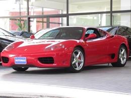 フェラーリ 360モデナ F1 禁煙車 正規ディーラー車 左H