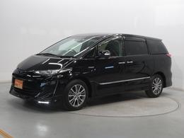 トヨタ エスティマハイブリッド 2.4 アエラス プレミアムG 4WD 検R4年3月 ナビ 両側電動スライドドア