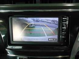 バックカメラ付きで狭い駐車場も安心です!