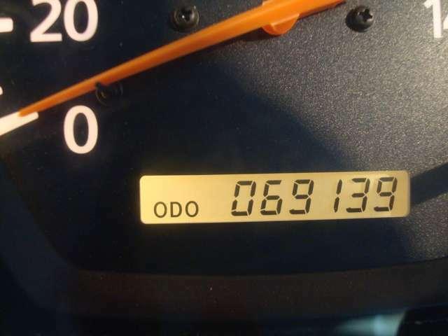 走行距離 69000km