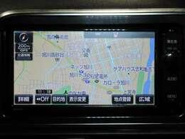 ☆ナビ☆フルセグナビなので車中でも高画質で見たい番組を楽しめます!