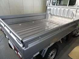 軽トラックNo.1の荷台フロア長だから、業種を問わず大活躍!