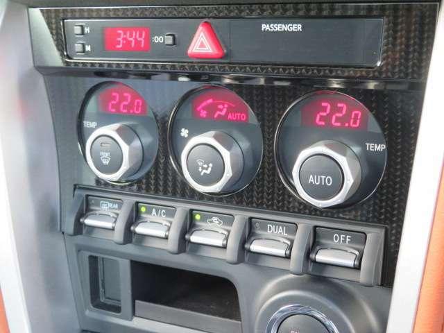 温度設定が良いに出来る便利なオートエアコン装着車