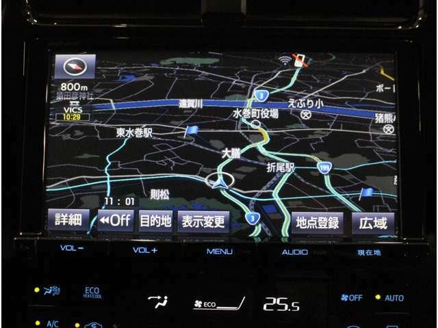 【SDナビ】遠方へのドライブも安心ですね! フルセグTV/DVD/CD/SD/Bluetooth/バックカメラ