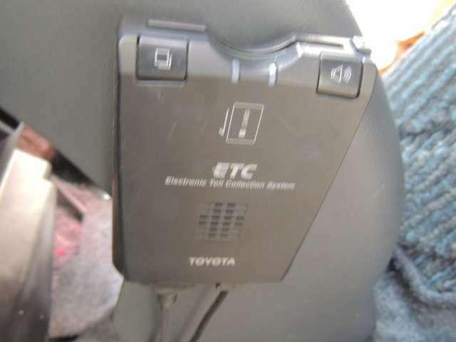 ☆ETCは、いまや必需品になっています。こちらの車には付いております。
