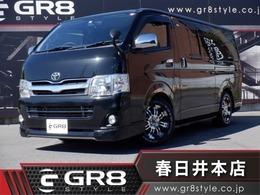 トヨタ ハイエースバン 2.0 スーパーGL ロング メモリナビTV/16inAW/ローダウン/ETC