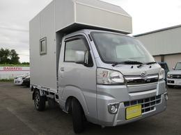 ダイハツ ハイゼットトラック 660 スタンダード 3方開 キャンピング仕様 サブBT 走行充電