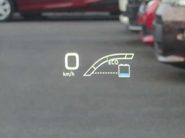 ヘッドアップディスプレイ付☆運転しながら目線を落とさなくてもメーターが見れるので安全です♪