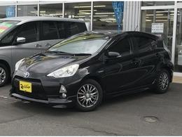 トヨタ アクア 1.5 S ナビ・フルセグTV・社外AW・EGスターター付