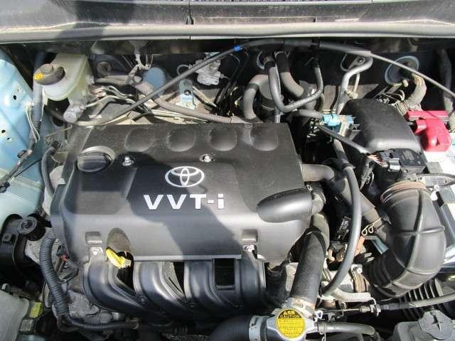1.3L直列4気筒DOHCエンジン!タイミングチェーン使用です!