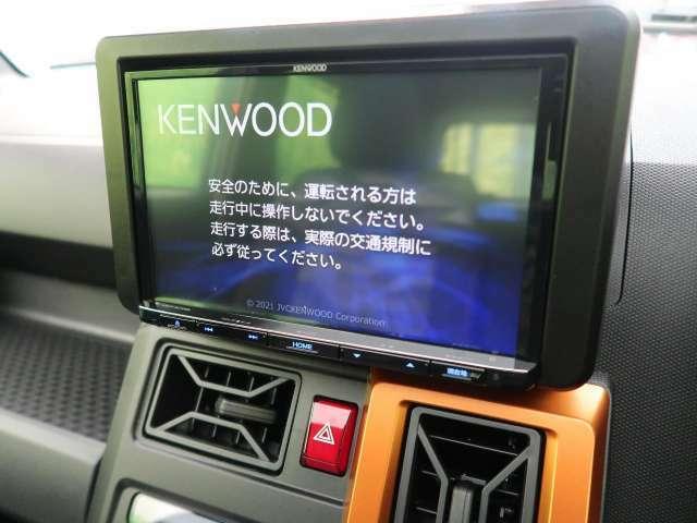 Kenwood 8型SDナビ搭載♪