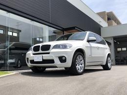 BMW X5 xドライブ 35i Mスポーツパッケージ 4WD 黒革シート サンルーフ HDD TV Bカメ