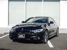 BMW 4シリーズクーペ 435i Mスポーツ 赤レザー LEDヘッドライト 19AW