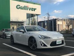 トヨタ 86 2.0 GT ワンオーナー・社外ナビ・BT・純正アルミ