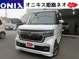 ホンダ N-BOX カスタム 660 L 新型新車ナビTVバックカメETCマットバイザ-