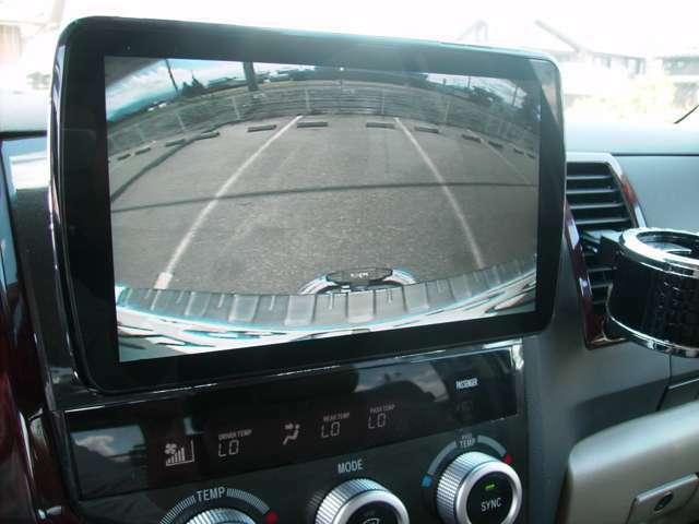 バックカメラが装備されているので見えにくい後方も安全に駐車していただけます!