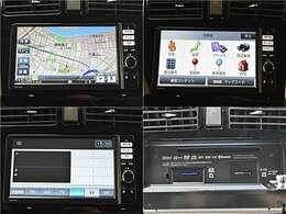 【ナビゲーション】ワイドで明るい液晶画面、簡単な操作方法、多機能ナビゲーション。知らない街でも安心です。 ≪ダイハツ純正ナビ  型番:NMZP-W64D≫