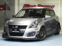 スズキ スイフト 1.6 スポーツ BLITZ車高調 トライフォースフルエアロ