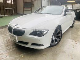 BMW 6シリーズカブリオレ 650i ディーラー車/左H/黒革/フルセグTV/ETC