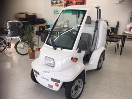 トヨタ コムス 小型電気自動車