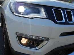 オートHIDライトで操作性よく、暗い道でも明るく照らしてくれます。