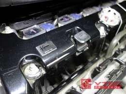 エンジンは、かの名ドライバーを唸らせたK-TECH K215-SL(排気量2156cc)を搭載。コンピューターもエンジンに合わせて専用チューニングされております。
