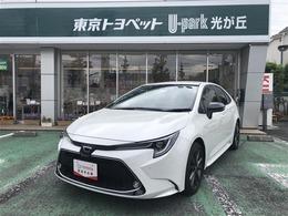 トヨタ カローラ 1.8 WxB 衝突軽減ブレーキ・当社試乗車・ドラレコ