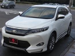 トヨタ ハリアー 2.0 プレミアム アドバンスドパッケージ ナビ 黒革 SR モデリスタE