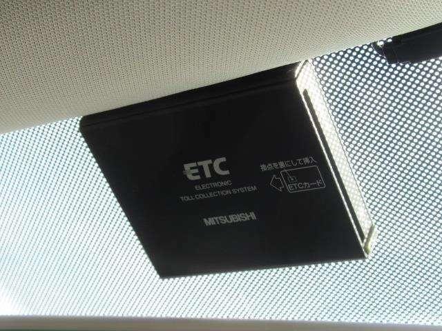 ETCも装着。セットアップ作業のみでお使いいただけます