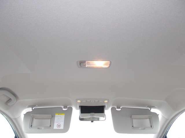 車内からみた天井です。
