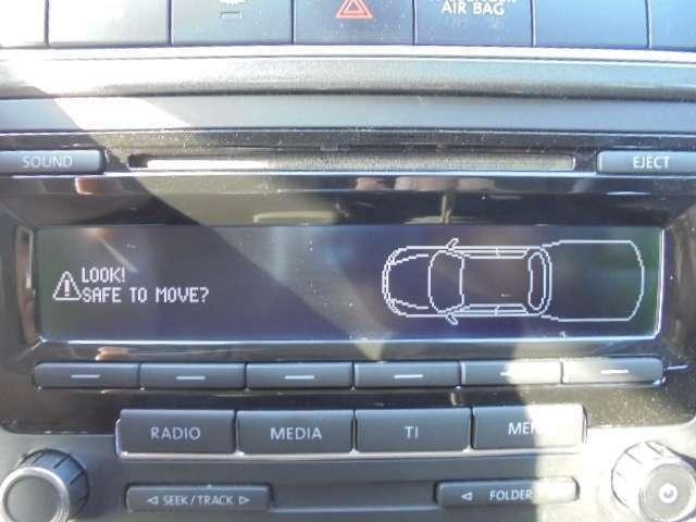 純正CDチューナー&バックソナー付きです。