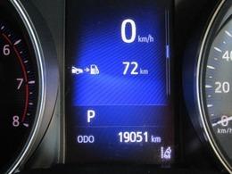 走行距離は少なく、およそ19,000kmです。