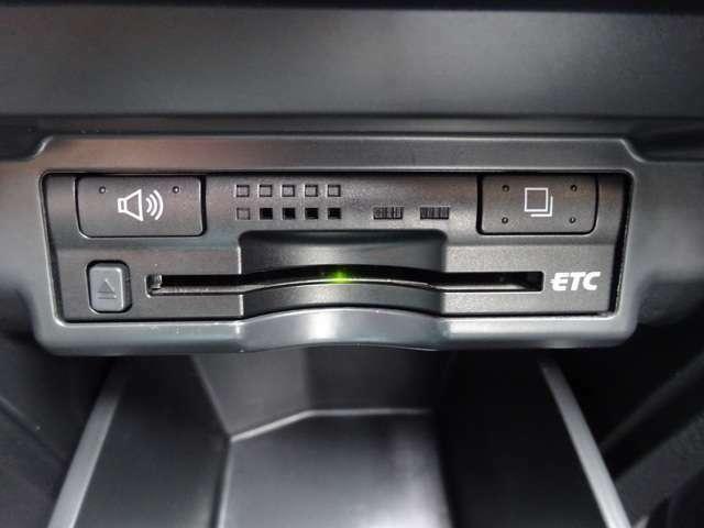 【ビルトインETC】見た目を損なうことなく配置されたETCは高速利用時に大活躍です!