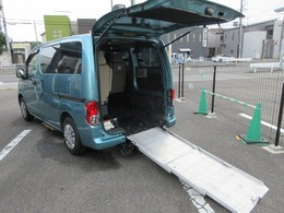 日産 NV200バネット 1.6 チェアキャブ 車いす1名仕様 専用サードシート有 スローパー バックモニター