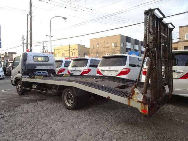 Bプラン画像:万が一の時の搬送車も完備!