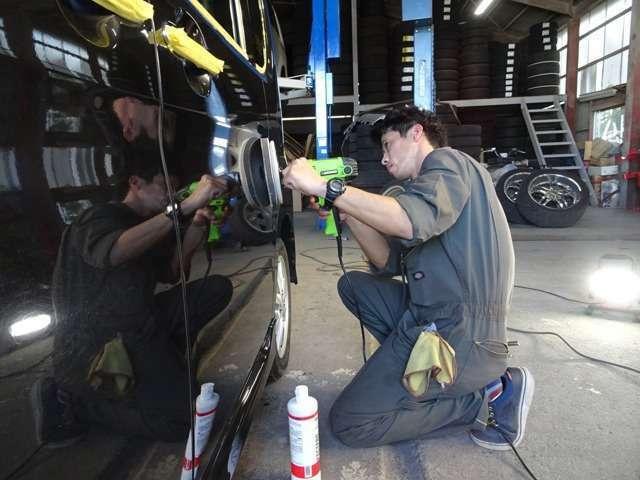 Bプラン画像:自社工場完備ですので購入後のメンテナンスもお任せください。