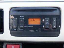純正CDプレーヤー、ラジオ